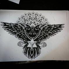"swirlysinatra: "" Available for tattooing swirlywanxsinatra@gmail.com Contact@seventhcircle.com.au #tattoo #blackandgrey #blackwork #geometrictattoo #mandala #dotwork #blackworkers #lordswirlytattoo #brisbane #brisbanetattoo #ritalinpower """