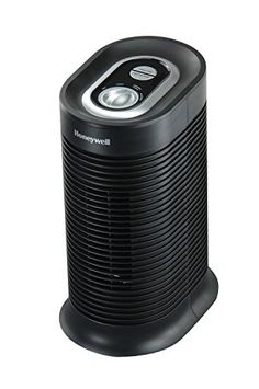 Honeywell True HEPA Compact Tower Allergen Remover, 75 Sq Ft, HPA060 Kaz (for Wyatt's asthma)