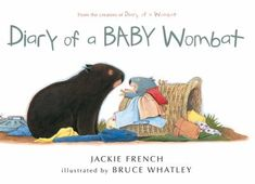 Cover image for Diary of a baby wombat