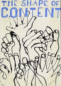 Ben Shahn - 2 works: The Shape of Content (Bird) ;The Shape of Content (Hands); Creation Date:Circa 1956; Medium: gouache and ink drawings; Dimensions:...