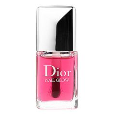 Nail Glow - Dior | Sephora With one universal shade, this unique nail lacquer enhances the color of your natural nails. When applied on bare nails, the pinks of the nails become pinker and the whites become whiter for a shining finish and healthy-glow effect.