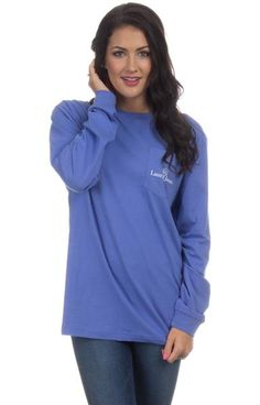 Violet - Whatever Floats Your Boat - Long Sleeve Front