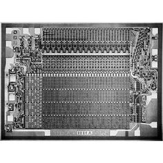 1965 - Semiconductor Read-Only-Memory Chips Appear - Intel 3301, 1024-bit Bipolar ROM