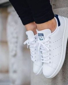 c527daf41c15 Shop Women's Adidas Stan Smith White Blue size Sneakers at a discounted  price at Poshmark.