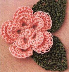 """crochet modele patron gratuit   Crochet : Patrons & modèles gratuits 19 """" Fleurs au crochet """""""