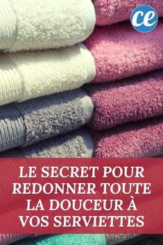 The Secret To Restoring Softness And The Power Of Absorption To Your Towels. Eliminating Sugar, Health Site, Flylady, Soft Towels, Wine Bottle Crafts, Health Advice, Cleaning Hacks, Restoration, Diy Flowers