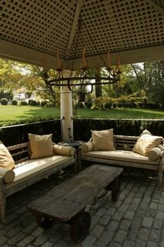love, love, love this gazebo -