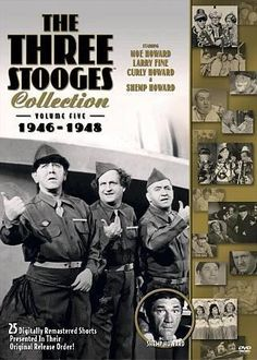 This fifth collection of Three Stooges shorts includes all of the boys best adventures from 1946-'48. Behind the scenes, it was a sad period in Stooge history: Curly retired after suffering a stroke o
