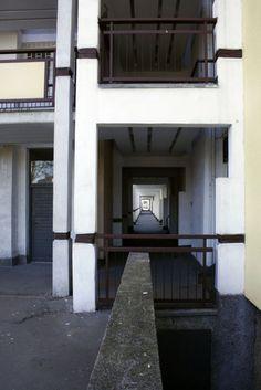 Przyczółek Grochowski (tzw. Osiedle Hansenów) w Warszawie, projekt Oskara i Zofii Hansenów, 1963, fot. Filip Wolski - photo 14