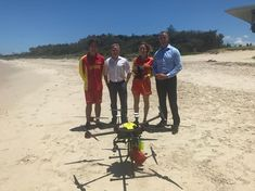 Drones deployed to stop north coast shark attacks
