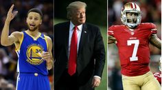 Trump stirs backlash feuding with NFL, NBA players