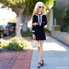 Hitting Melrose for some last minute holiday shopping!  #barbie #barbiestyle