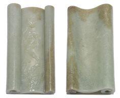 Jade Scroll Weight. Yongzheng Period. 6 x 3 x 1 inches (15.8 x 7.9 x 2.5 cm).