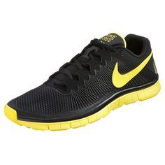 Nike Free 3.0 V5 - Running men shoes - Black/Yellow HOT SALE! HOT PRICE!
