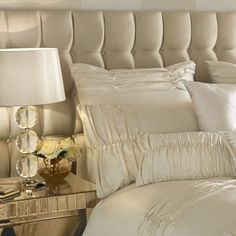 Ponden Home V Shaped Pillowcase Cream