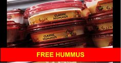 5 Free Sabra Hummus Product Coupons** NO PROOF REQUIRED! - http://yeswecoupon.com/breaking-news-25-flavors-hummus-recalled-50-states/?Pinterest  #Breakingnews, #News, #Recall