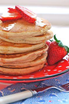 spelt & vegan vanilla pancakes
