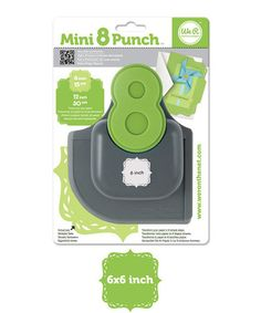 Look what I found on #zulily! Vine Mini Edge Punch #zulilyfinds