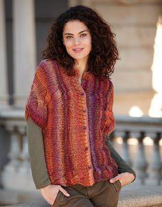 Book Woman Sport 83 Autumn / Winter | 17: Woman Jacket | Violet-Orange