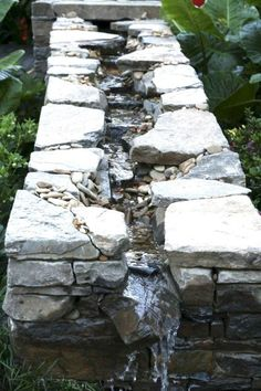 56 Backyard Ponds And Water Garden Landscaping Ideas (13) Ponds Backyard, Backyard Landscaping, Landscaping Ideas, Waterfall Landscaping, Backyard Waterfalls, Backyard Patio, Natural Landscaping, Garden Ponds, Koi Ponds