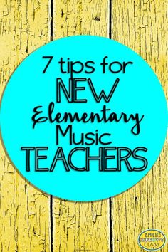 This blog post contains advice and tips for new music teachers. It also includes a FREE schedule sheet to help elementary music teachers keep track of what they did with each class!