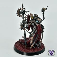 Adeptus Mechanicus: Tech-Priest Dominus #ChaoticColors #commissionpainting #paintingcommission #painting #miniatures #paintingminiatures #wargaming #Miniaturepainting #Tabletopgames #Wargaming #Scalemodel #Miniatures #art #creative #photooftheday #hobby #paintingwarhammer #Warhammerpainting #warhammer #wh #gamesworkshop #gw #Warhammer40k #Warhammer40000 #Wh40k #40K #Adeptusmechanicus #Mechanicus #Admech #Adeptusmechanicus #Mechanicum #TechPriestDominus Warhammer 40000, Paint Schemes, Tabletop Games, Gw, Priest, Miniatures, Tech, Fantasy, Creative