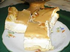 Show details for Recept - Větrník na plech Czech Desserts, Sweet Desserts, Sweet Recipes, Slovak Recipes, Czech Recipes, Baking Recipes, Cake Recipes, Dessert Recipes, Different Cakes