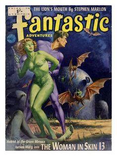 Fantastic Adventures, Sci-Fi Pulp