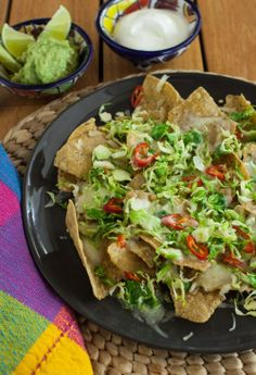 Brussels Sprouts Nachos