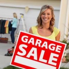 Garage Sale Tips: Clear Clutter With A Yard Sale. If you're in active declutter mode, the next stop is your house! A yard sale can clear clutter and score some cash, but it helps to have a road map. Getting organized for a garage sale can mean more money and less stress.