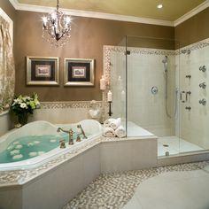 Corner tubs for small bathrooms corner tub bathroom designs bathroom design ideas with tub corner bath design ideas best corner bathtub corner tub bathroom Spa Like Bathroom, Bathroom Renos, Dream Bathrooms, Beautiful Bathrooms, Bathroom Ideas, Bathroom Designs, Spa Bathrooms, Bathtub Ideas, Luxury Bathrooms