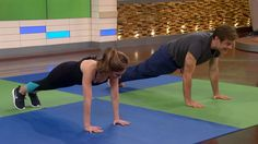 Dr. Oz showed Joy Bauer the 7-minute workout routine that helps him start his day. Follow along!