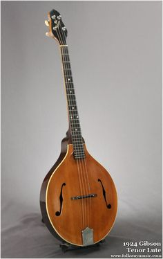 not a mandolin, but it's so unique and so beautiful, i need one. (Tenor Lute)