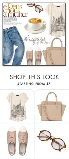 """Untitled #945"" by fashion-pol ❤ liked on Polyvore featuring Banana Republic, Salvatore Ferragamo and FitFlop"