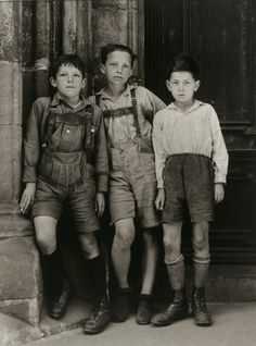 August Sander. City Children. 1930