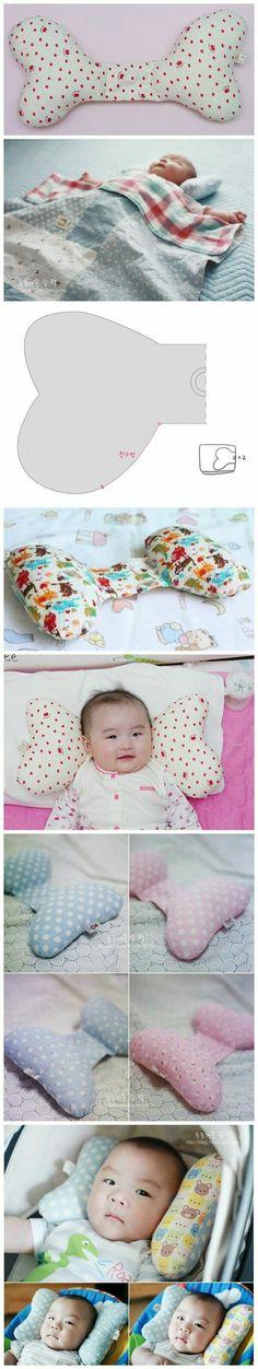 Diy travesseiro de bebê