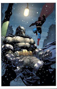 Dark Knight 3 #2 Variant - Jim Lee, Scott Williams, and Alex Sinclair