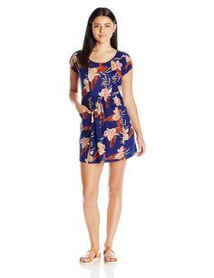 Roxy Juniors' Surfin Seafari Knit Dress