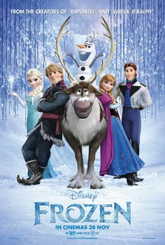 "Frozen. Just loved this new Disney movie! I had ""Let it Go"" in my head for months!"