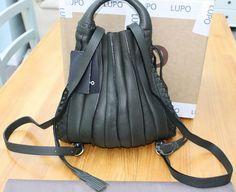 Lupo Backpack - Reverse or Back of bag Drawstring Backpack, Bucket Bag, Barcelona, Pumps, Backpacks, Handbags, Clothes, Fashion, Bag