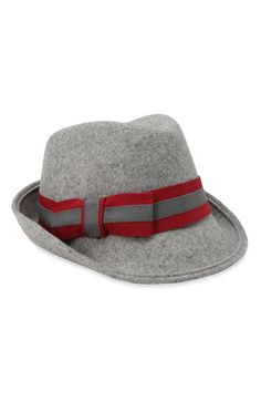Grosgrain Bow Fedora by Tarnish New Style of hats that I'm loving. I have a leopard one that I'll post