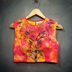 Like this loose fitted blouse.