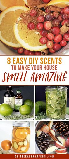 DIY scents and easy stovetop potpourri will make your house smell amazing. There are recipes for each season! Homemade Potpourri, Simmering Potpourri, Stove Top Potpourri, Potpourri Recipes, House Smell Good, House Smells, Big Candles, Home Scents, Diy Cleaning Products