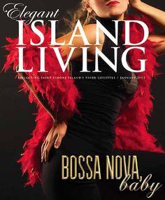 January 2015 cover - Bossa Nova, Baby. A teaser for the Symphony Society's Cabaret 2015: Bossa Nova Rio.