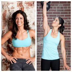 4 complete core training exercises from Girls Gone Strong