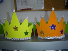 REIS MAGOS 3 Castle Crafts, Headband Crafts, Kings Day, Christmas Program, Preschool Crafts, Toddler Preschool, Fun Crafts, Crafts For Kids, Kindergarten