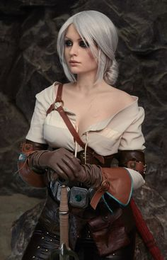 Ciri, from The Witcher III: Wild Hunt.