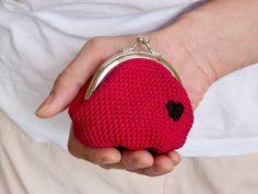 16 Crocheted Coin Purses Ideas | DIY To Make