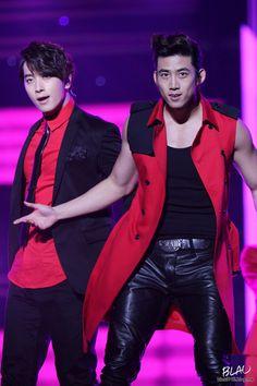 Hwang Chan Sung and Ok Taecyeon - 2PM