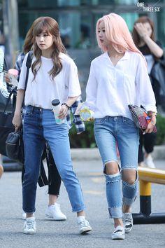 APink ChoRong and BoMi